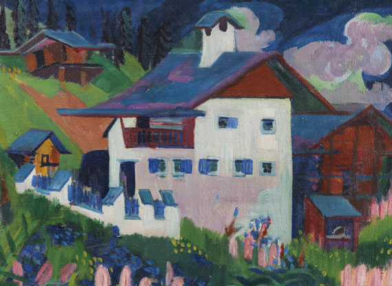 Ernst Ludwig Kirchner - Unser Haus - Altre immagini